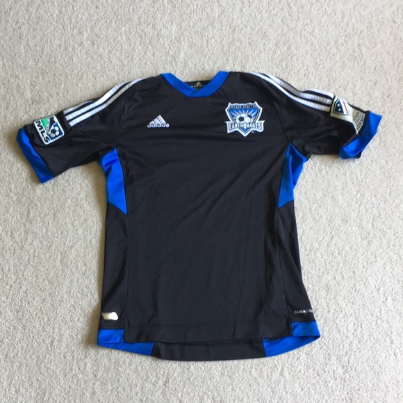 more photos f74d3 f0645 San Jose Earthquakes Black Jersey
